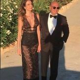 Top Guests at the wedding ceremony of Ana Beatriz Barros, Karim El Siati Greek Wedding