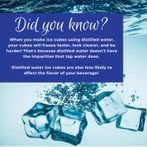 Distilled Water for Ice