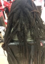 Braids By Bee invites all the clients who hasn't let anyone touch there Locs in over a year for the challenge.