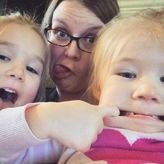 Silly Faces for my girls