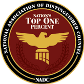 TOP ONE PERCENT ATTORNEY National Association of Distinguished Counsel