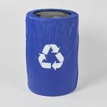 Recycling Plastic Elastic Barrel Cover
