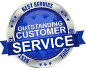We offer outstanding customer service