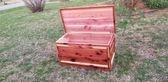 Red Cedar chest w/ hi gloss finish