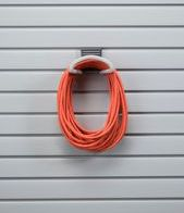 POWER CORD STORAGE SLATWALL