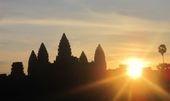 A beautiful Sunrise at Angkor