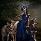 wolfalike dog models