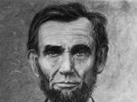 Drawiung of President Abraham Lincoln