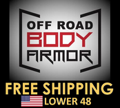 Off Road Body Armor Free Shipping