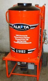 Alkota hot pressure washer