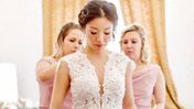 Wedding with a Classic Set of Eyelash Extensions