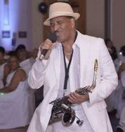 Tony Wynn Saxophone player with The Silkee Smoove Band
