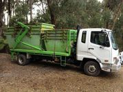 Eastern Skip Hire's delivery truck image, skip bin hire & mini skips to eastern suburbs, yarra valley & yarra ranges