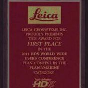 LEICA Award  4 Hexagon Las Vegas
