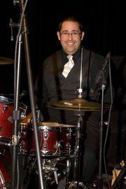 Tony Durrum, on drums