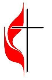 United Methodist Cross Symbol.