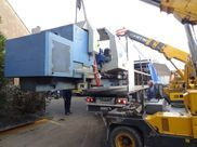 "54"" x 196"" Gurutzpe CNC Lathe en route from France to Canada 4"