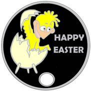 Happy Easter pathtag design