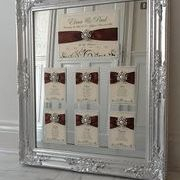 Mirror for wedding reception