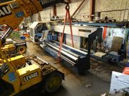 "54"" x 196"" Gurutzpe CNC Lathe en route from France to Canada 1"