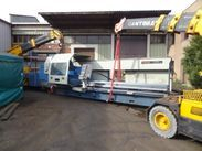 "54"" x 196"" Gurutzpe CNC Lathe en route from France to Canada 3"