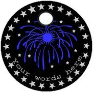 Fireworks pathtag design
