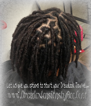 Braids by Bee known to repair natural Locs making them look healthy and brand new with InstantLoc method.