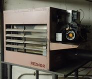 Reznor waste oil heater