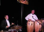 "Tony Durrum  (Drums) and Peter ""Gonzo"" Gonzalez /Percussion"