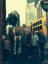 Genetech group in Nashville on the Music City Pub Crawl