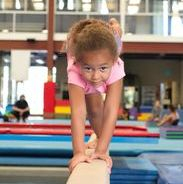 Balance training and core stability at Performance Athletics Gymnastics