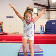 Flying like a super hero at Performance Athletics Gymnastics