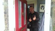 Happy locksmith customer, one of Taylors Locksmiths www,taylorslocksmiths.co.uk