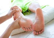 reflexology can treat depression, back pain, anxiety, digestive disorders
