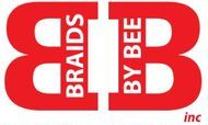 Braids By Bee logo for services trademark