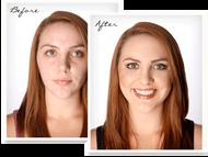 Air brush make-up