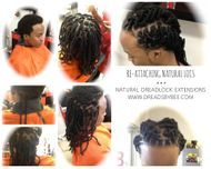 Braids by Bee first known to successfully reattach dreadlocks permanently