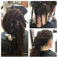 Braids by Bee repairs dreadlocks