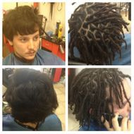 Braids by Bee known to start Loc journey with all texture hair types.