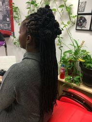 InstantLOc technique also used to repair roots and reinforce damage dreads.