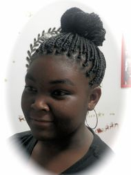 Micro Braids hairstyle for girls