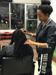 Reattach natural dreadlocks Braids By Bee techniques are the Best in the World