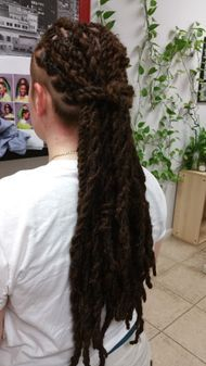 Braids by Bee has been growing clients InstantLoc Dreads for over 6 years and still counting.