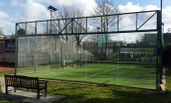 UK padel court construction