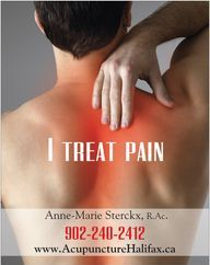 I treat Pain with Acupuncture and TCM