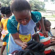 Hair and Beauty Class in Congo DR