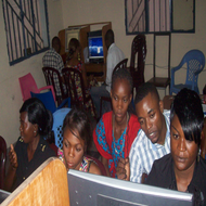 ARD computer class in DR Congo