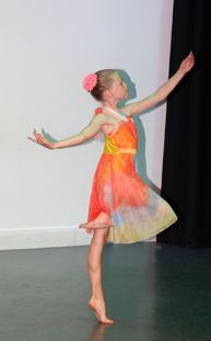 Hattie's farewell dance in 2019 Summer Showcase
