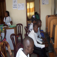 Computer class on DR Congo