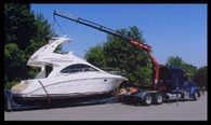 Boat Transport services.